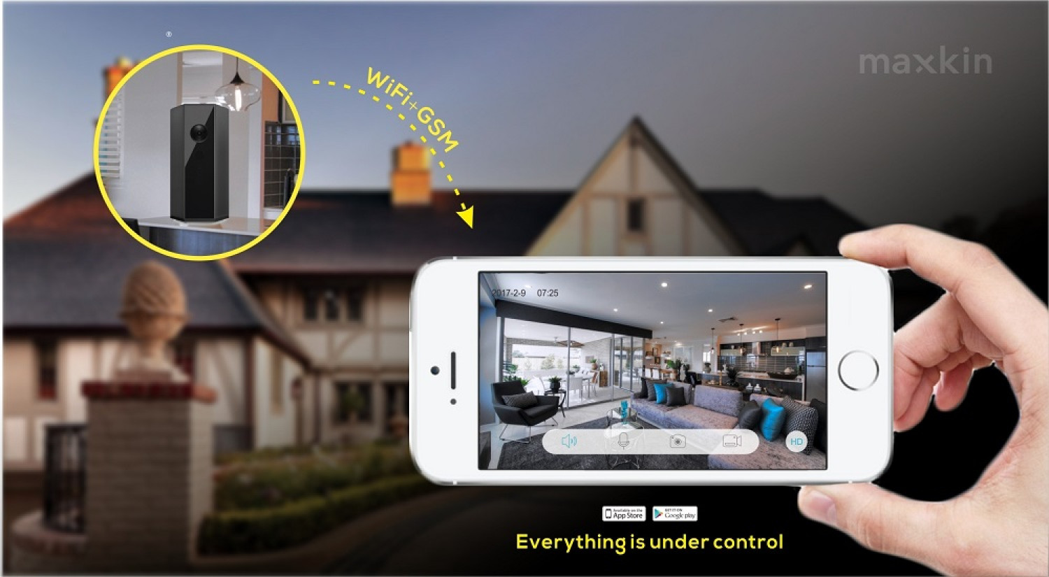 Maxkin To Attend IFA 2017 with Its All-in-one Hybrid Integrated Camera Security Systems  Infographic