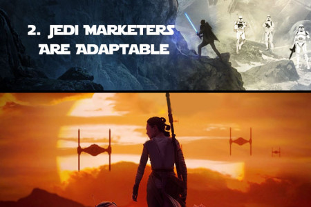 May the Fourth Be with You: Be a Jedi Marketer Master Infographic