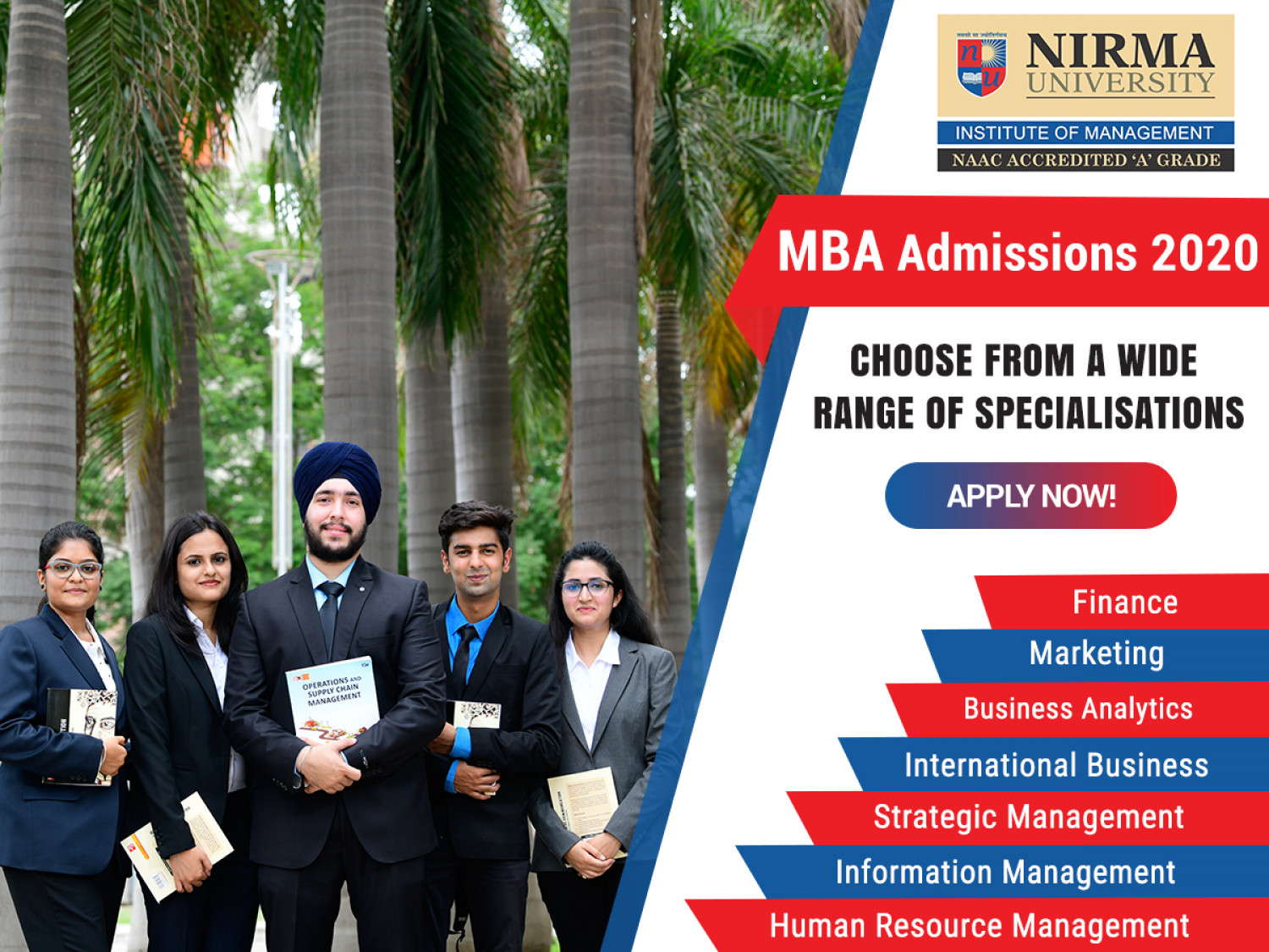 MBA Admissions 2020 Infographic