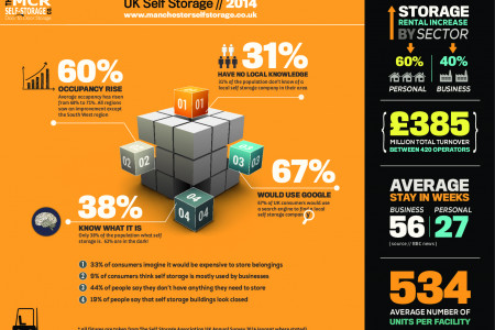 MCR Self Storage Infographic Infographic