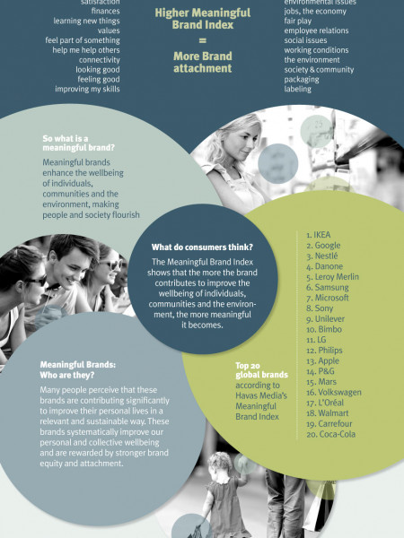Meaningful Brands  Infographic