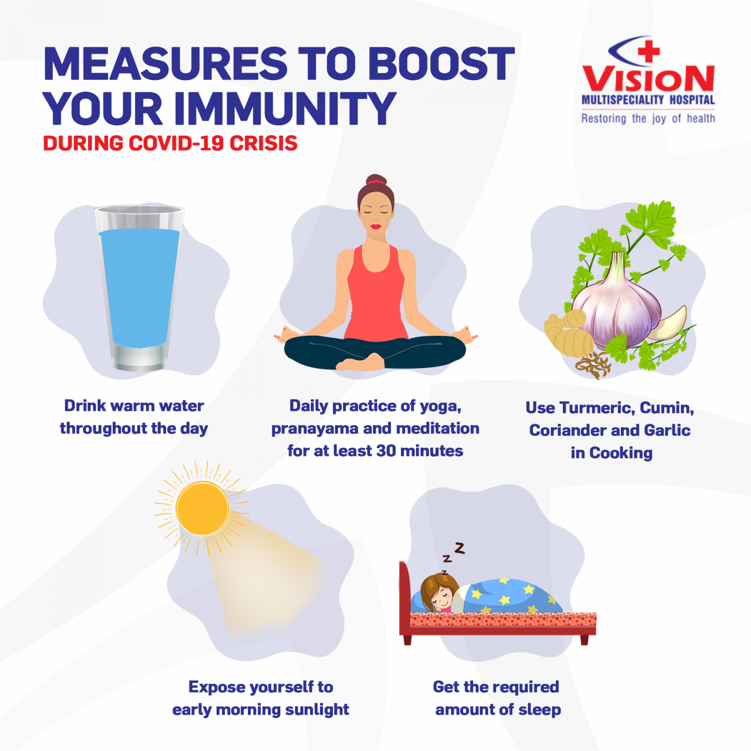 Measures to Boost Your Immunity Infographic