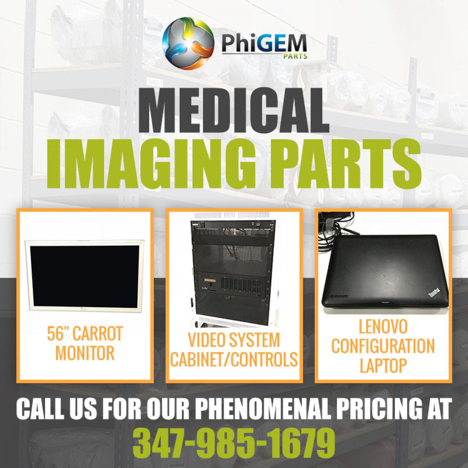 Medical Imaging Parts Infographic