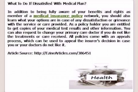 Medical insurance policy Infographic