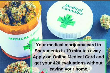 Medical Marijuana Evaluations Sacramento Infographic