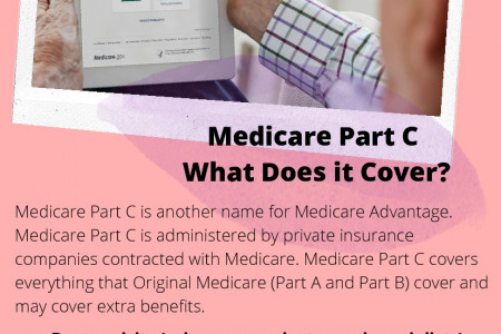 Medicare Part C What Does it Cover? Infographic