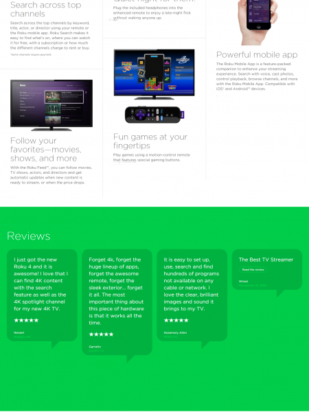 Meet Roku 4 Powerful Streaming Device : Review Infographic