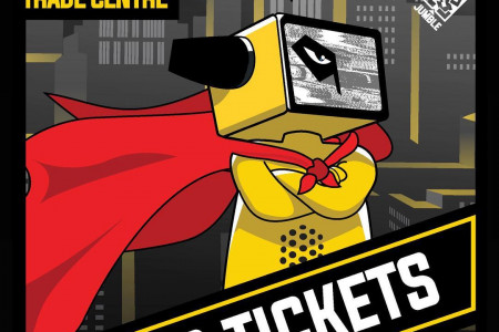 Meet your favorite Comic-Con Characters and join Jumble. Infographic