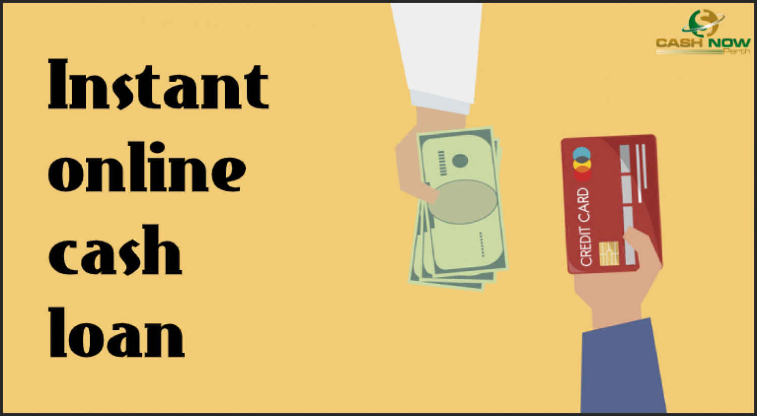 Meet Your Short Term Needs with instant online cash loan Infographic