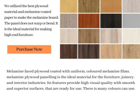 Melamine Chipboard Sheets In Philippines Infographic