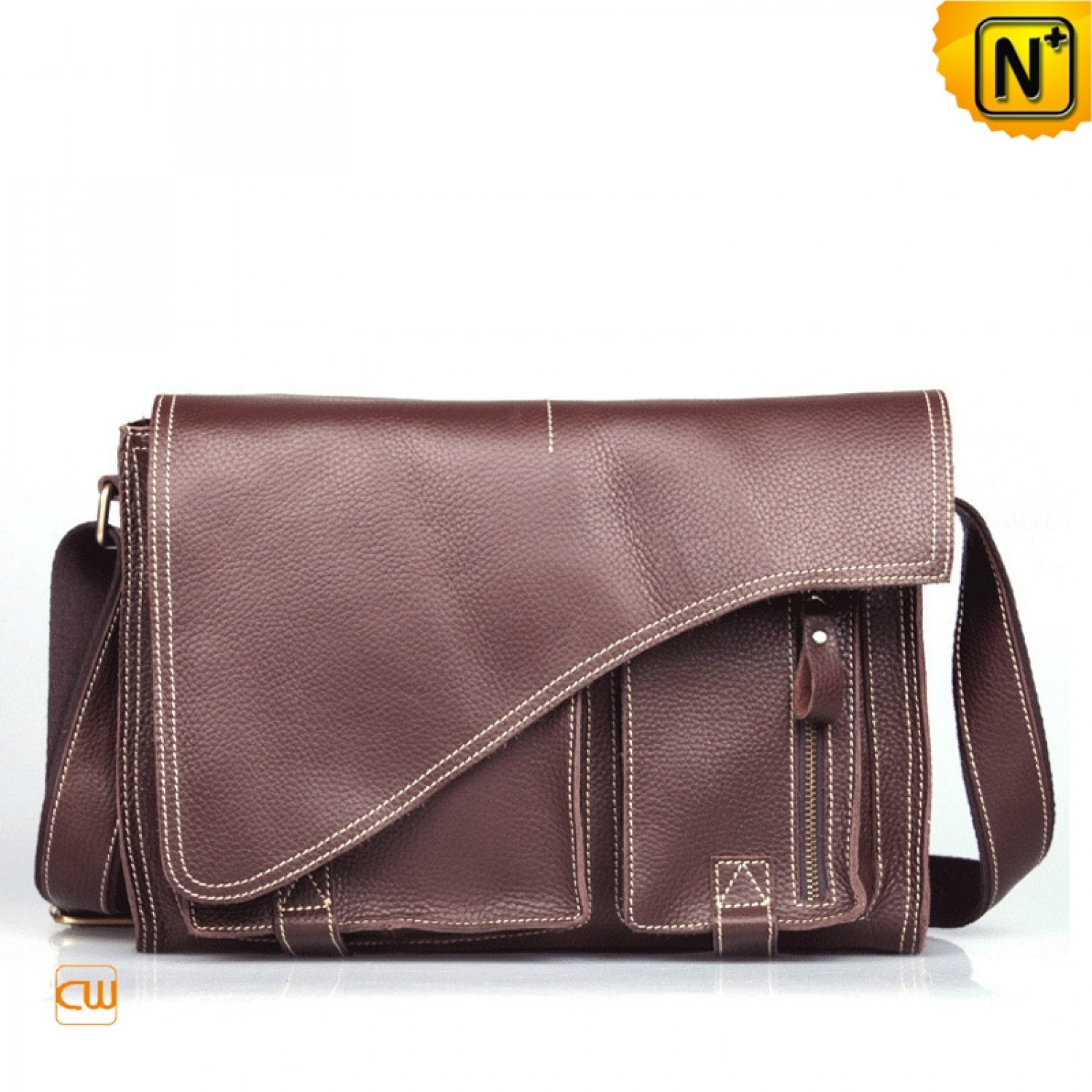 Men Designer Leather Messenger Bags CW914118 | Visual.ly