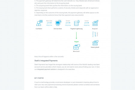 Merchant account services providers - Stark Payments Infographic