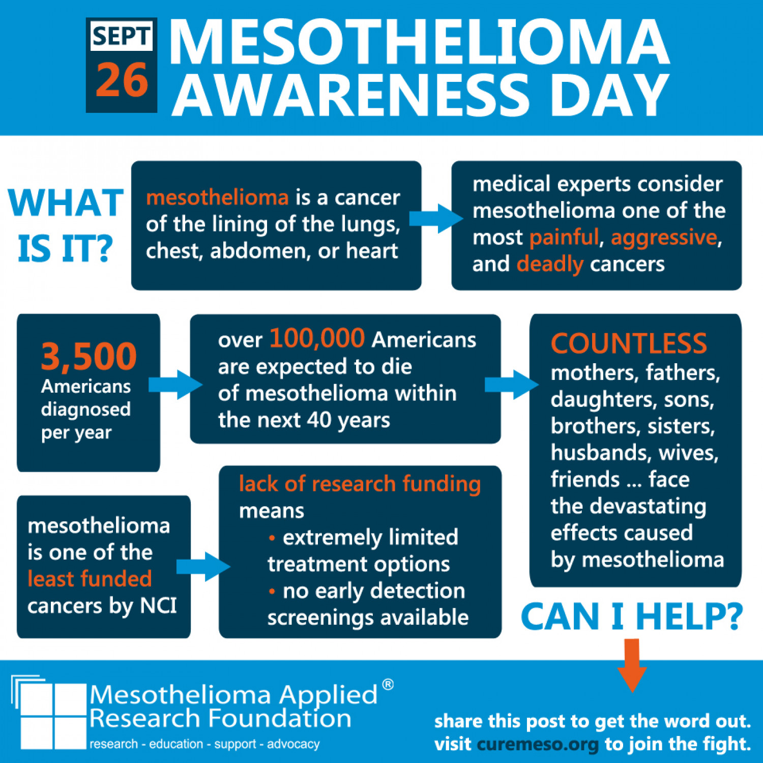 Mesothelioma Awareness Day -- September 26, 2013 Infographic