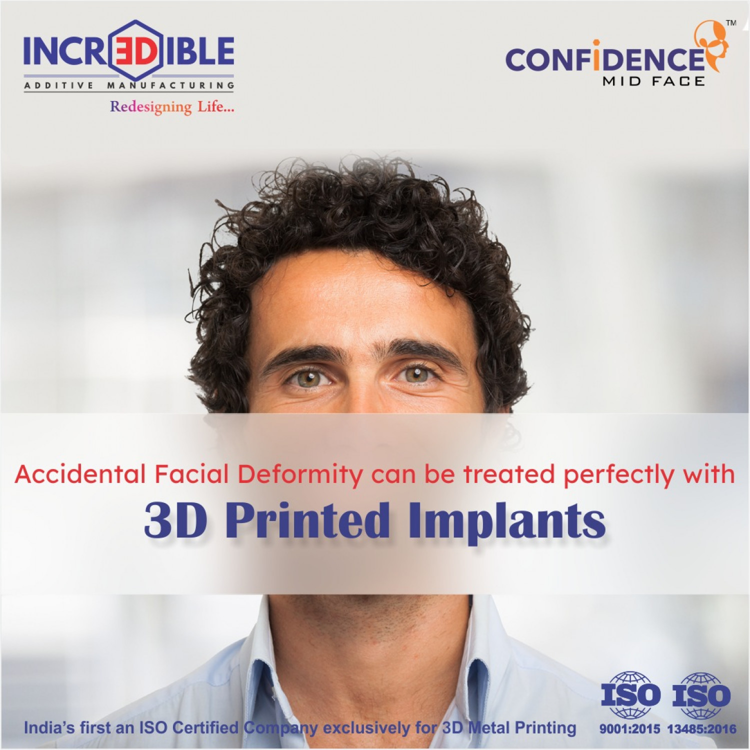 Metal 3d printing in india Infographic