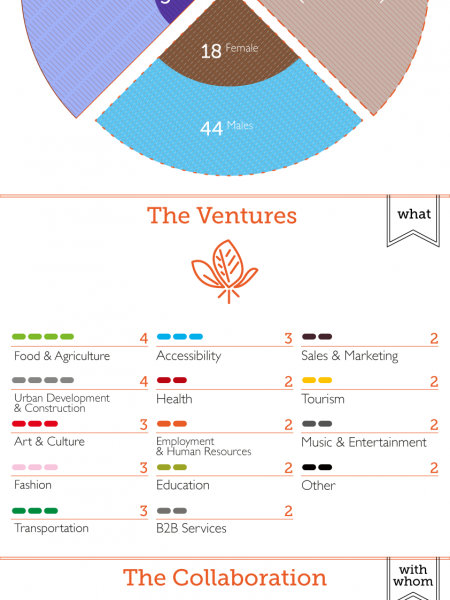 Metavallon - A year developing the Greek startup ecosystem Infographic