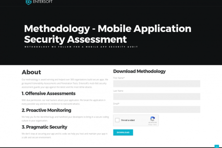methodology-mobile application security assessment Infographic