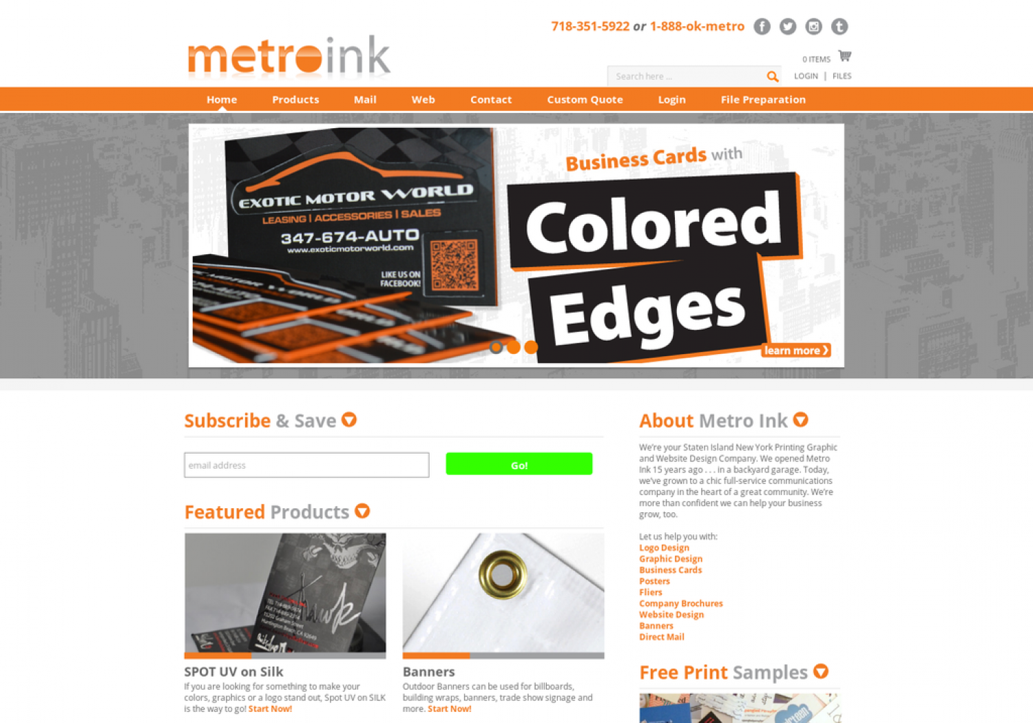 Metroin printing is a website design company staten island new york metroin printing is a website design company staten island new york it offers display reheart Choice Image