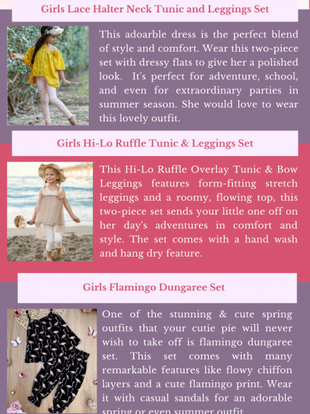 Mia Belle Girls Cute Outfits to Get a Stylish Look Infographic