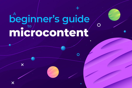 Microcontent: A Beginner's Guide Infographic
