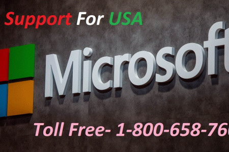 Microsoft Technical Support Number 1-800-658-7602 Infographic