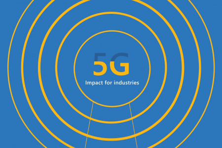 Microsoft the Power of 5G ad Infographic