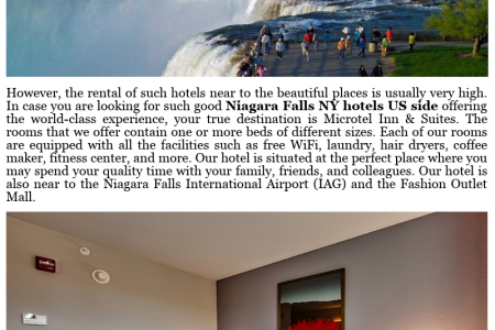 Microtel Inn & Suites – Reside in the Most Beautiful Rooms Near Niagara Falls Infographic