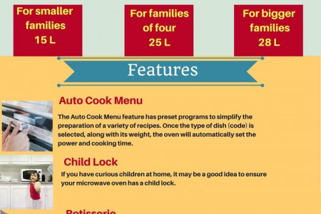 Microwave Oven Service Center in Hyderabad Infographic