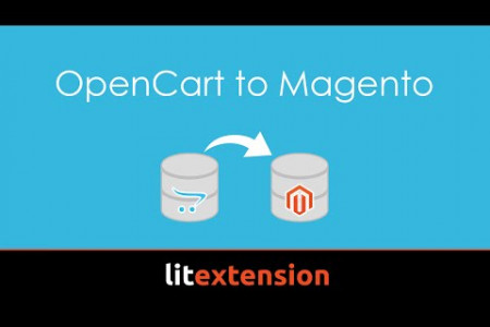 Migrate database from OpenCart to Magento automatically using LitExtension  Infographic