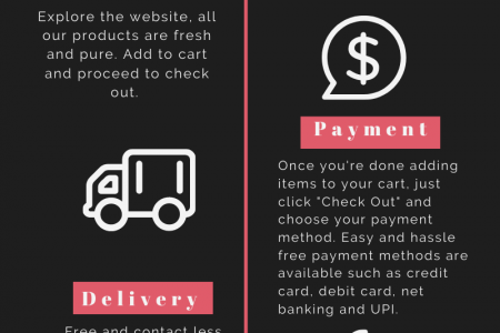 Milk Delivery Process in Delhi NCR Infographic