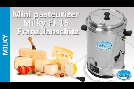Milk Pasteurization Machine in the Uk - Mini pasteurizer Milky FJ 15   Infographic