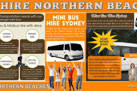 Mini bus hire Sydney Infographic