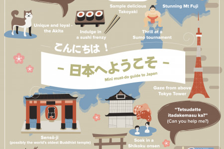 Mini Must-do Guide to Japan Infographic
