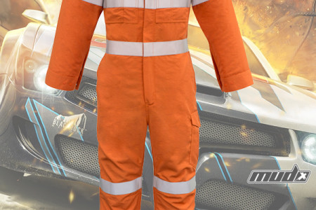 mining work wear-Fire Armour Hoop Taped Overall Infographic