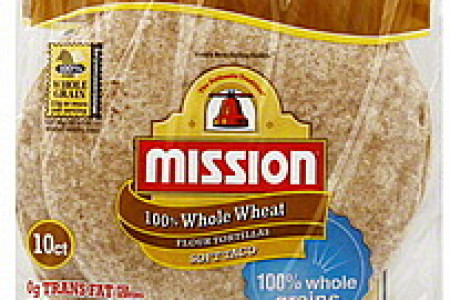 Mission Whole Wheat Soft Taco Tortillas Infographic