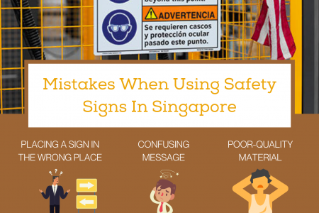 Mistakes When Using Safety Signs In Singapore Infographic