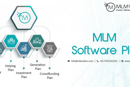 MLM Plans Available with MLM Vibes Infographic