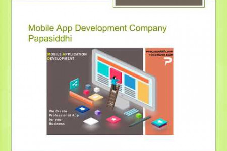 Mobile App Development Company Papasiddhi Infographic