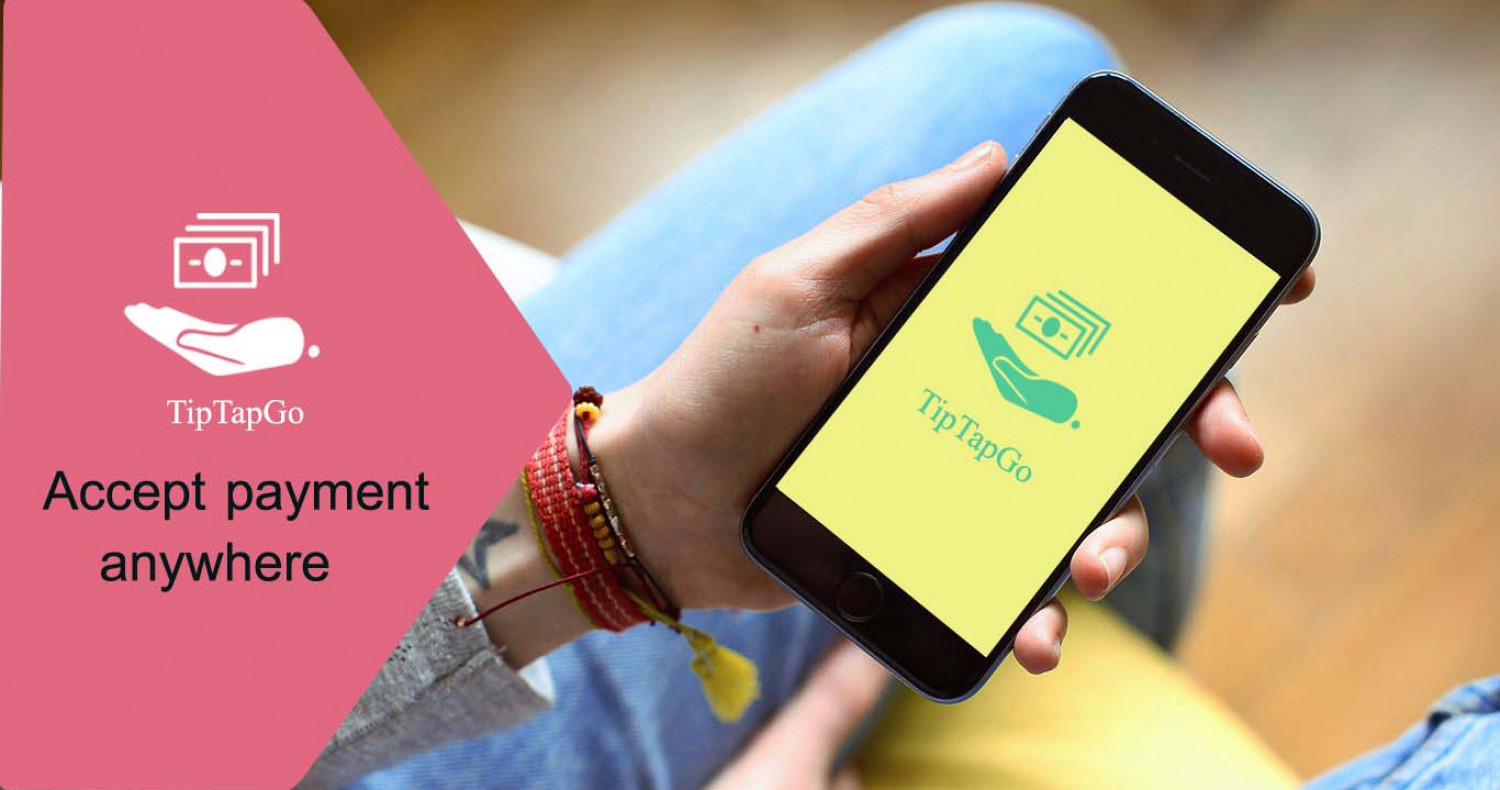 Mobile app for Digital Payment |TipTapGo Infographic