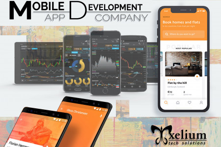 Mobile App Development Company in Gurgaon Infographic