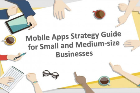 Mobile Apps Strategy Guide for Small and Medium-size Businesses Infographic