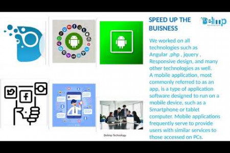 Mobile Development | Delimp Technology Infographic