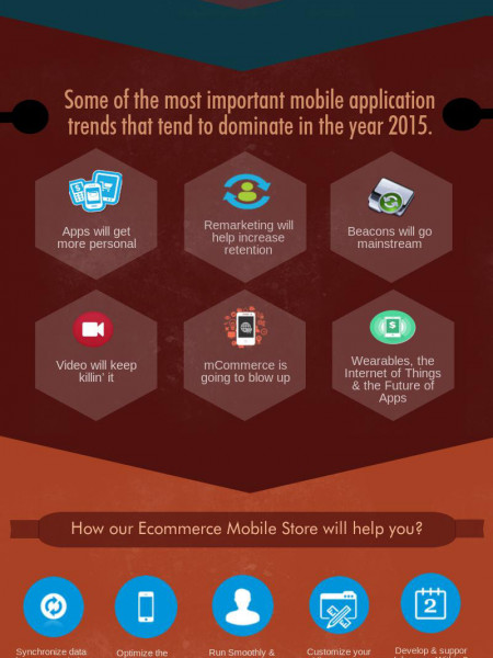 Mobile ecommerce Solution to Achieve New Heights of Success Infographic