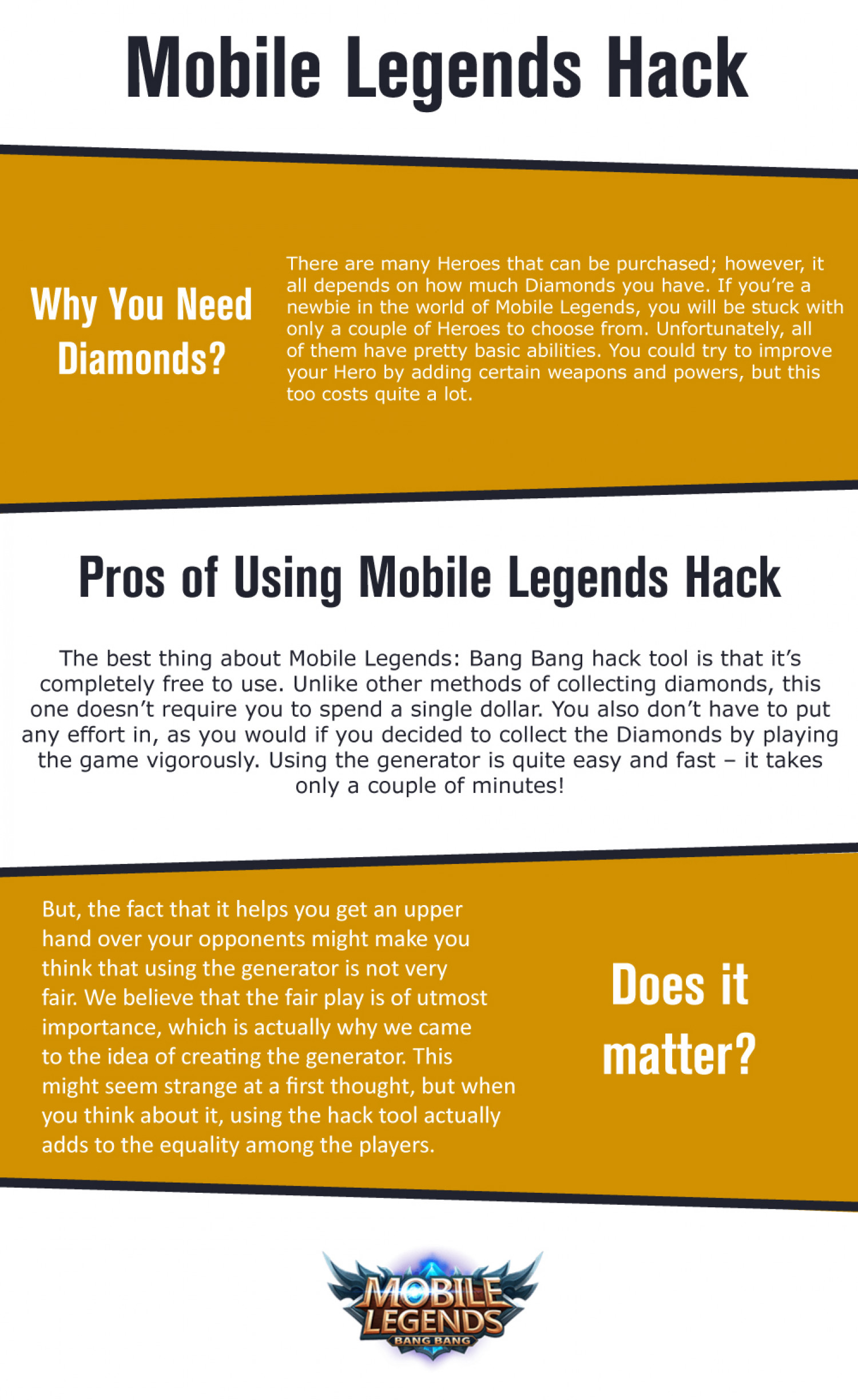Mobile Legends Free Battle Points Infographic