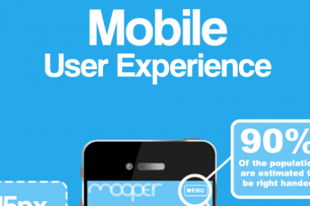 Mobile Website User Experience Infographic