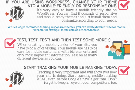 Mobile-Friendly Checklist Infographic
