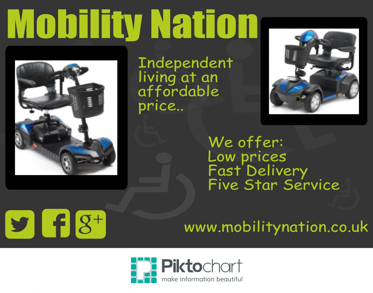 Mobility Nation - Independent Living Infographic