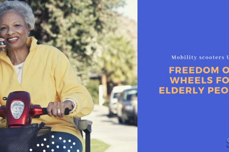 Mobility scooters UK – Freedom on wheels for Elderly people Infographic