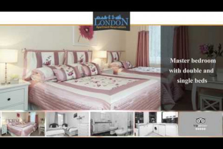 Modern 2 Bedroom Apartment near Oxford Street Infographic
