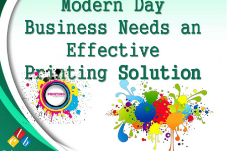 Modern Day Business Needs an Effective Printing Solution Infographic