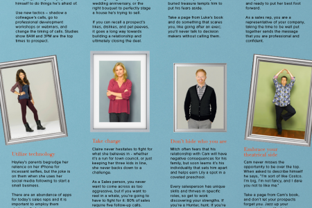 Modern Family Wisdom for Sales Infographic